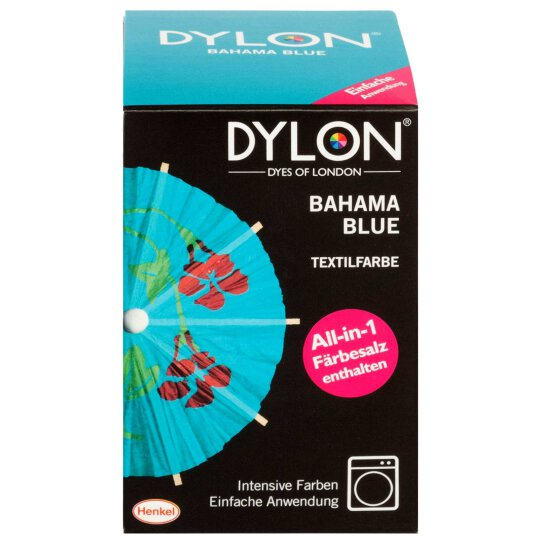 Dylon Textilfarbe All-in-1 Bahama Blue 350g