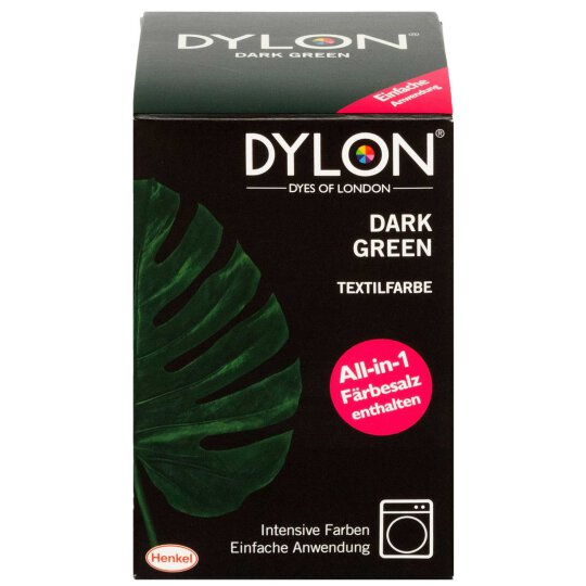 Dylon Textilfarbe All-in-1 Dark Green 350g