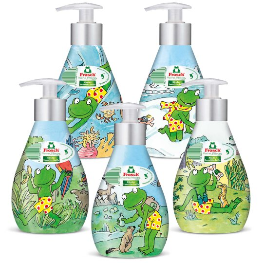Frosch Reine Pflege Kinder Sensitiv-Seife Deko Spender 300ml