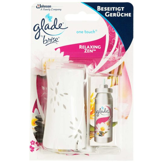 glade One Touch Duftspender Set mit Relaxing Zen 10ml
