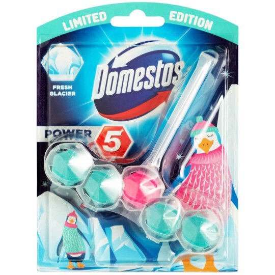 Domestos Power 5 WC Stein Fresh Glacier 55g