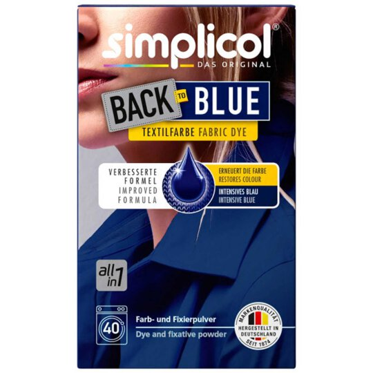 simplicol Back to blue all-in-1 Textilfarbe 400g