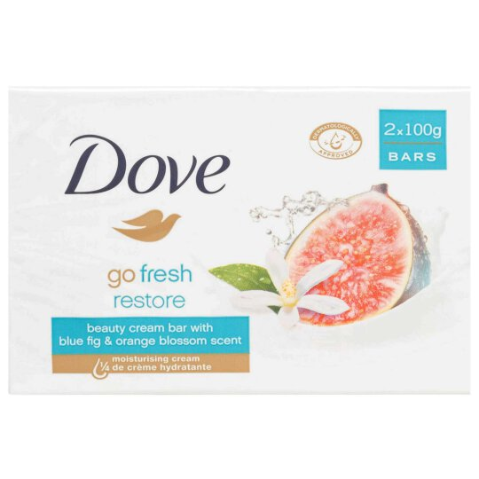 Dove Cream Bar Fresh Restore Seife 2x100g