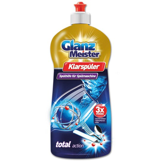 GlanzMeister Klarspüler 3x Power 920ml