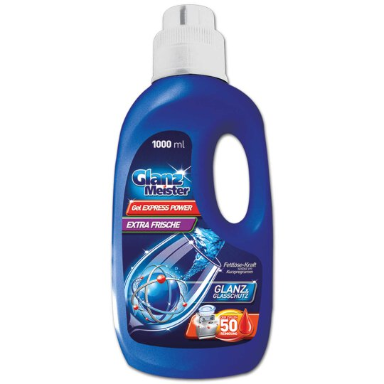GlanzMeister Geschirrspül Gel Express Power 1L