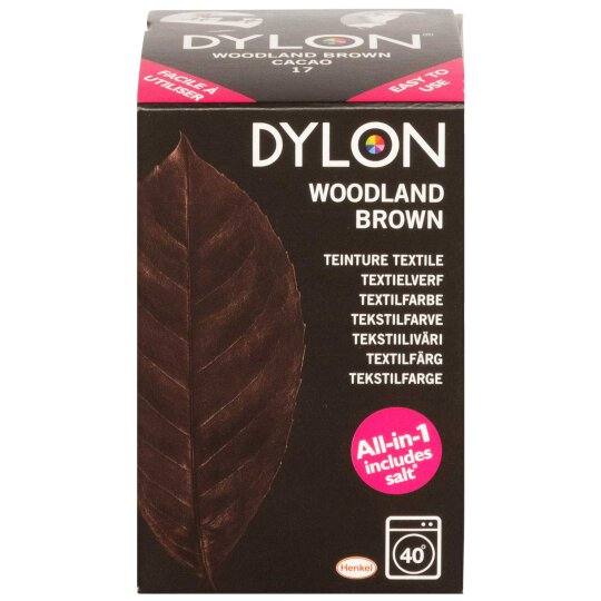 Dylon Textilfarbe All-in-1 Woodland Brown 350g