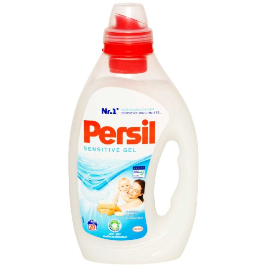 Persil Sensitive Vollwaschmittel Gel 20WL 1L