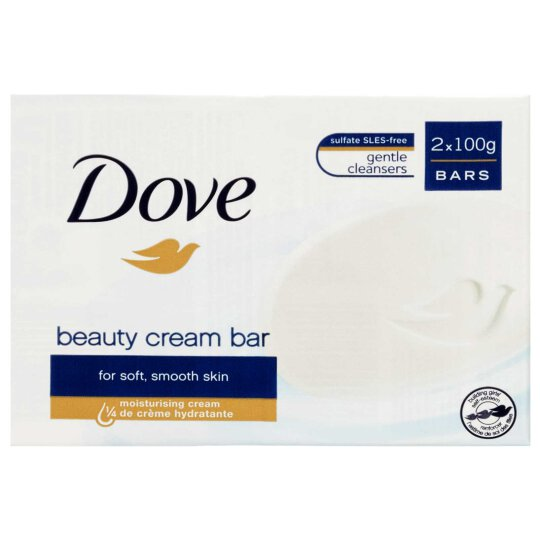 Dove Beauty Cream Bar Creme Seife 2x100g