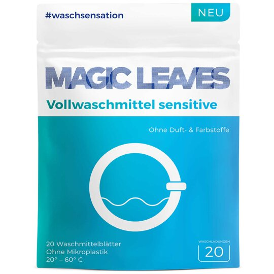 Magic Leaves Vollwaschmittel Sensitive 20WL