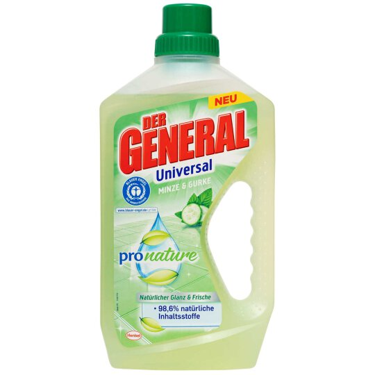 Der General pro nature Minze & Gurke 750ml