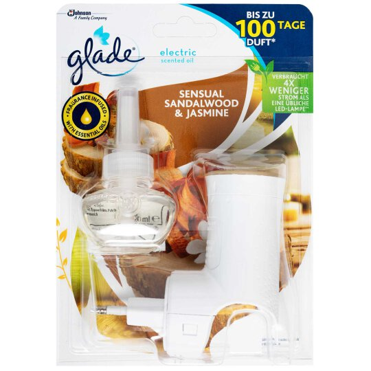 glade electric Scented Oil Stecker Sensual Sandalwood &...