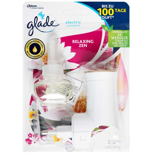 glade electric Scented Oil Duftstecker Relaxing Zen