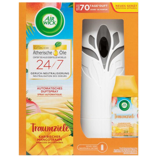 Air Wick Freshmatic Max Start Set Karibischer Mangotraum