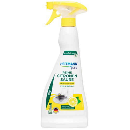 Heitmann pure Reine Citronen Säure Spray 500ml