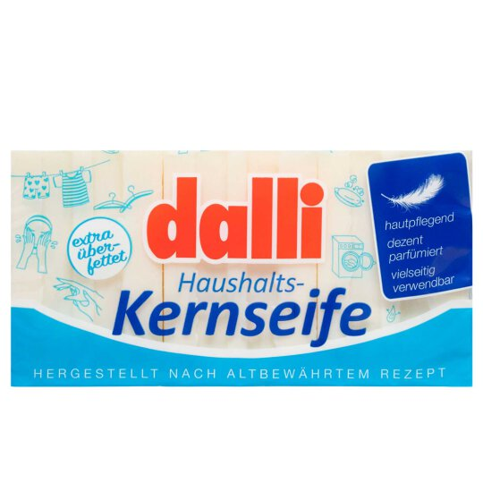 Dalli Haushalts-Kernseife 3x100g