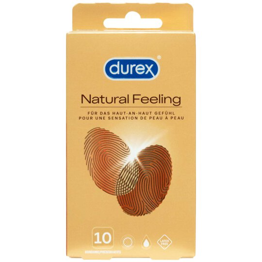 Durex Kondome Natural Feeling Latexfrei 10 Stück