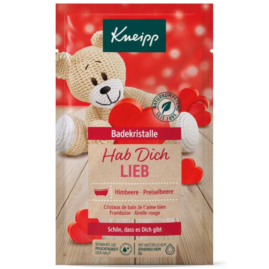 Kneipp Badekristalle Hab dich lieb Himbeere &...