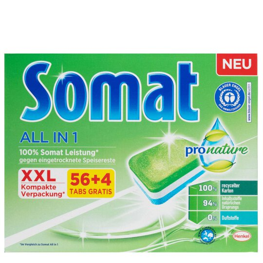 Somat All in 1 Pro Nature 60 Tabs